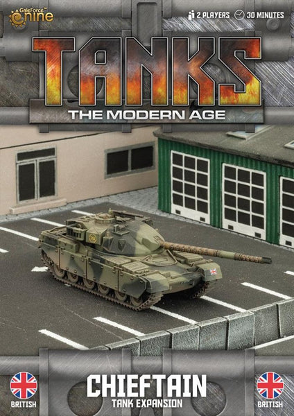 MTANKS04 - British Chieftain Tank Expansion