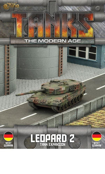 MTANKS05 - West German Leopard 2 Tank Expansion