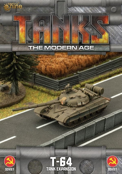 MTANKS07 - Soviet T-64 Tank Expansion