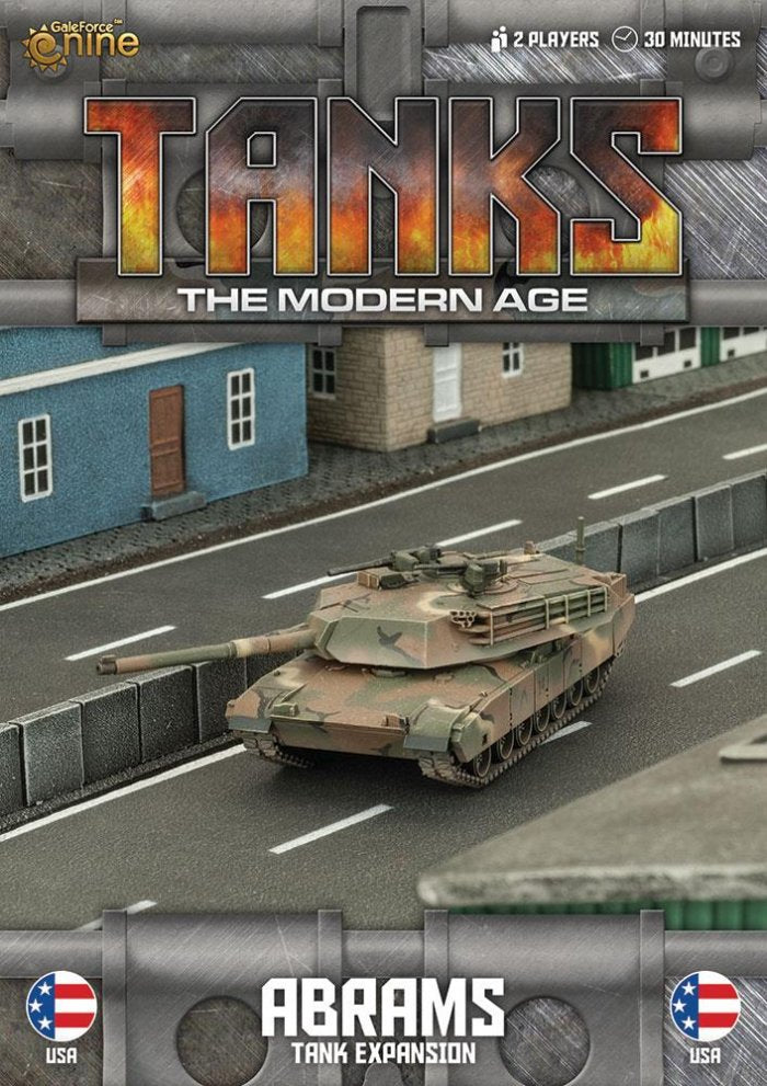 MTANKS02 - American M1 Abrams Tank Expansion
