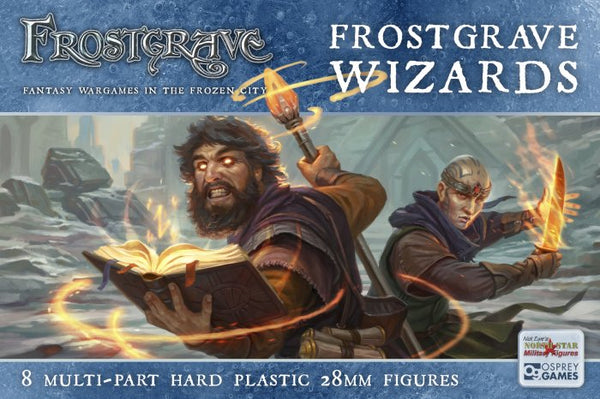 Frostgrave Wizards -preorder now