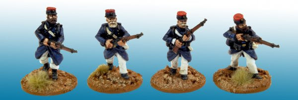 MOD035 - Legionaires in uncovered Kepi