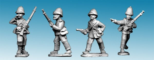 MOD034 - Legion Command in Troupes Colonial Uniform and Sun Helmet