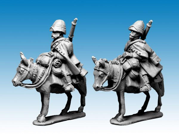 MOD041 - Legion Mounted Company in greatcoats and sun helmet