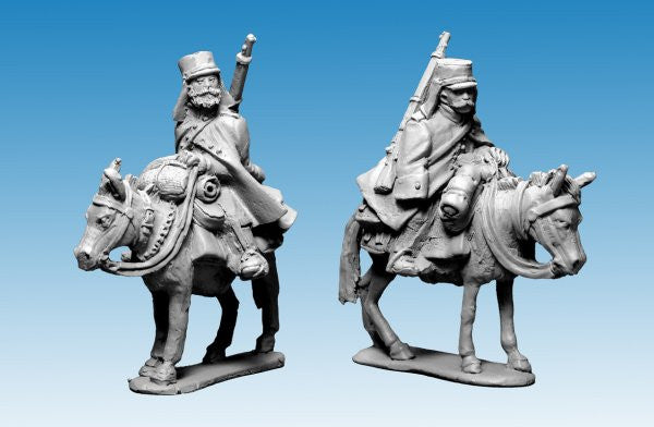 MOD042 - Legion Mounted Company in greatcoats and kepi
