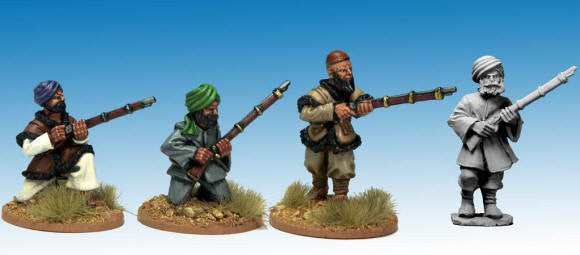 NWF1004 - Afghan Irregulars with Muskets