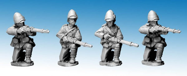 NWF0009 - British Infantry Kneeling. 2nd Afghan War