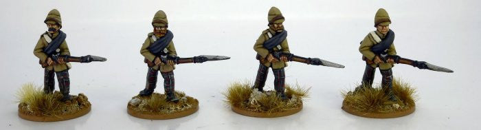NWF0020 - Highlanders in trousers advancing. 2nd Afghan War.