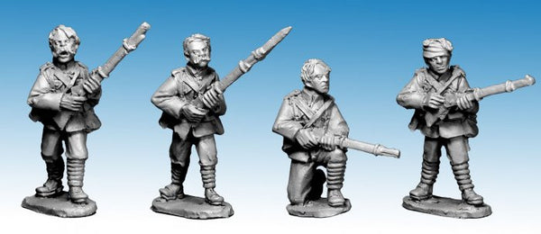 NWF0006 - British Infantry bare-headed, 2nd Afghan War