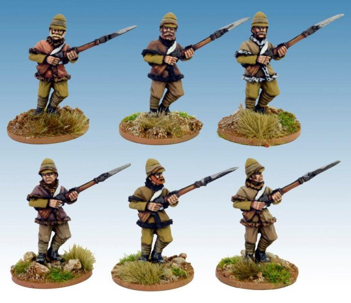 NWF0015 - British infantry in Poshteen Advancing