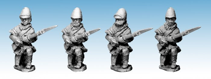 NWF0011 - British Infantry Kneeling. In Poshteens