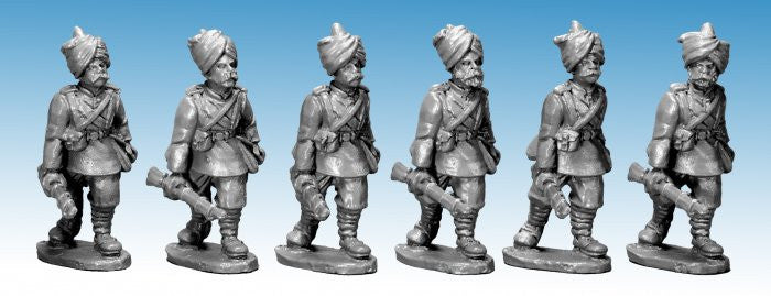 NWF0121 - Punjabi Infantry at Trail