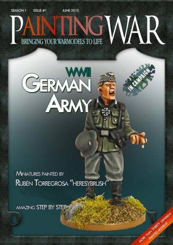 Painting War. Issue #1 WWII German Army