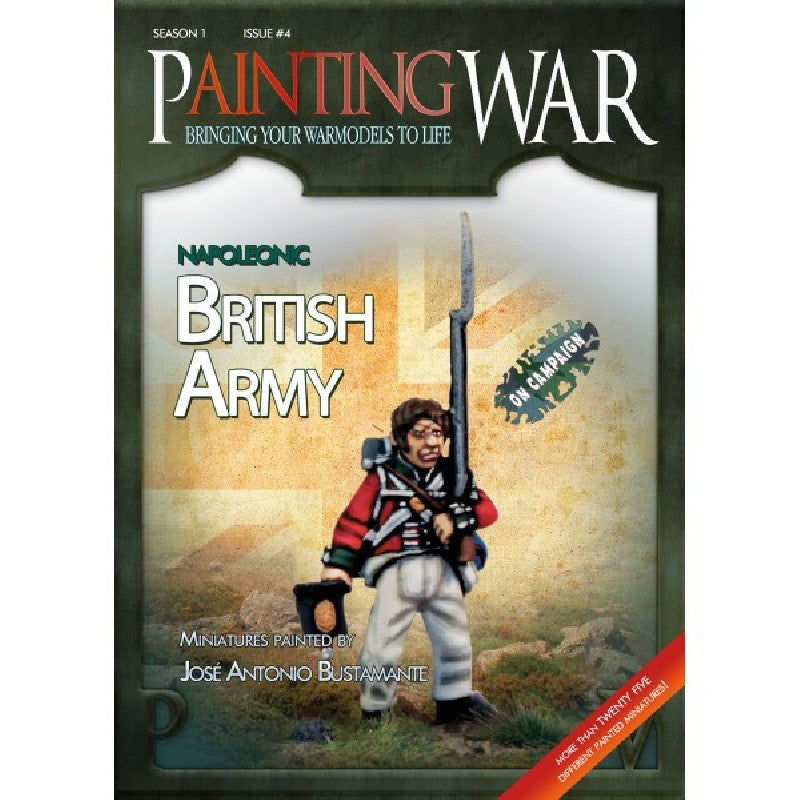 Painting War 4: Napoleonic British Army