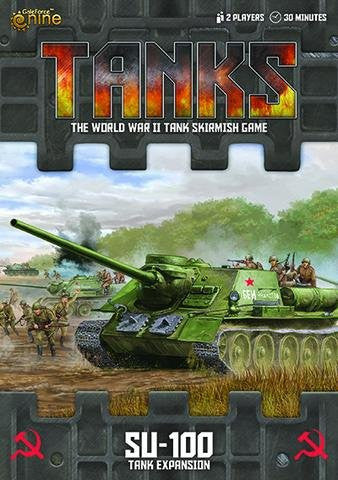 TANKS - Soviet SU-100 Tank Expansion