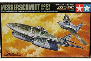 1/100th Messerschmitt Me262B/Me163B