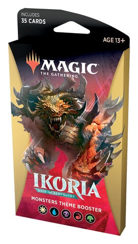 Magic: The Gathering - Ikoria - Lair of Behemoths Theme Booster - Monster