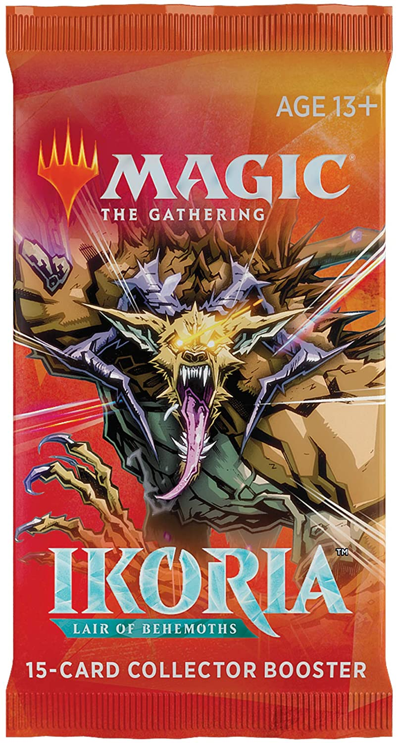 Magic: The Gathering - Ikoria - Lair of Behemoths Collector Booster MTG