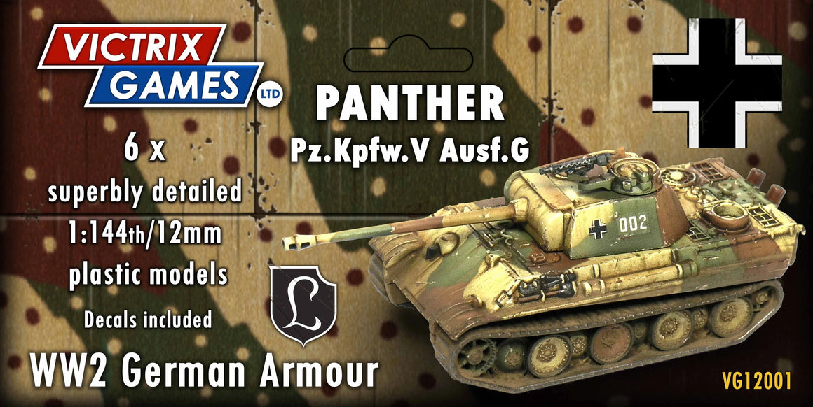 Victrix Panther Ausf.G 12mm/1:144 scale