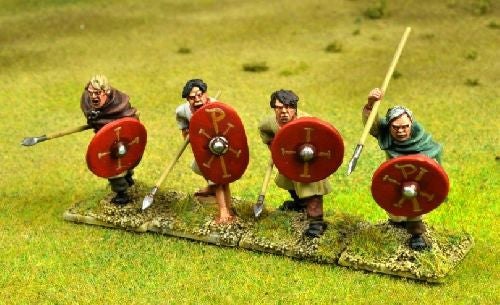 PAX004 - Arthurian Spearmen II (Attacking)