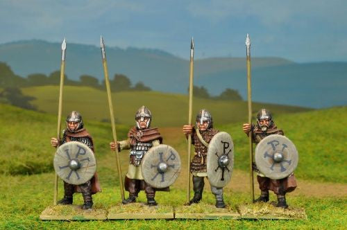 PAX005 - Arthurian Armoured Spearmen