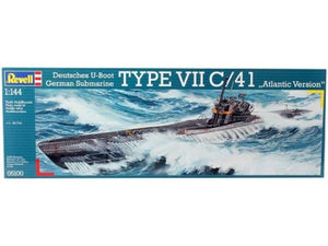 Revell 1/144 German u Boat Type VII C/41 Atlantic Version