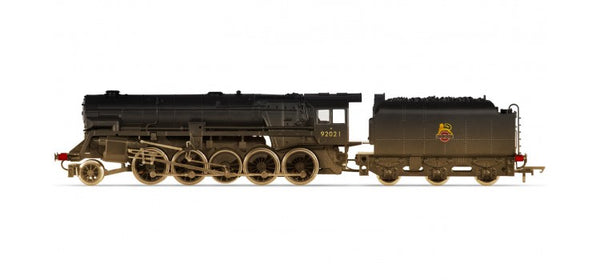 RailRoad BR 2-10-0 Crosti Boiler 9F Class (Early BR) Heavily Weathered