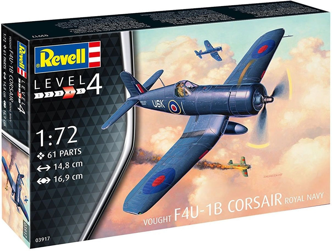 Revell 1/72 Vought F4U-1B Corsair Royal Navy