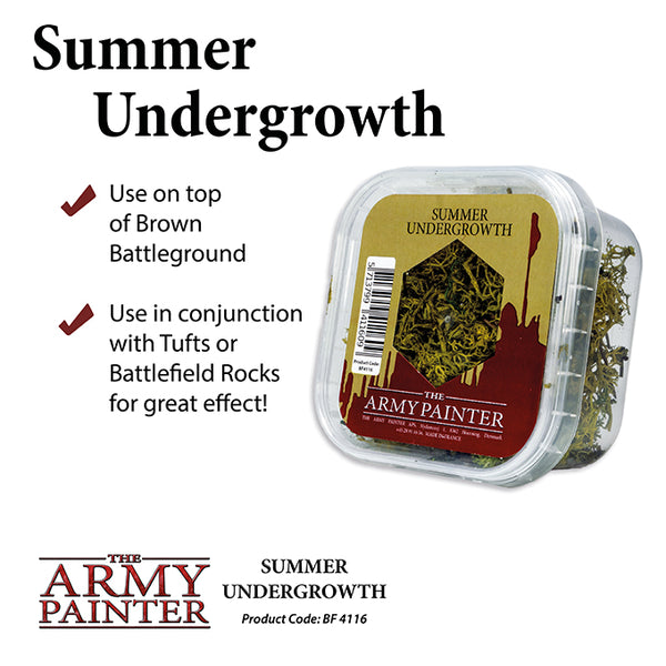 Army Painter Basing: Summer Undergrowth