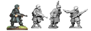 SWW022 - German N.C.O.s and LMG Team in Greatcoats