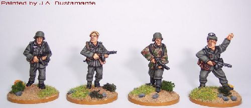 SWW082 - German Infantry with PPSh41