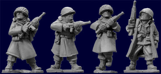 SWW352 - US Infantry in Greatcoats with Carbines