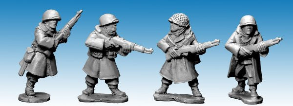 SWW355 - US Infantry in Greatcoats with Rifles II