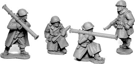 SWW357 - US Infantry in Greatcoats Bazooka Team
