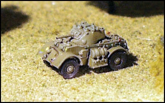 GHQ UK34 Staghound Armoured Car