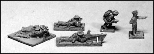 GHQ UK60 WWII UK Individual Heavy Weapons