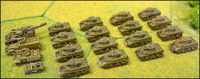 US151 US Light Tank Company 1944