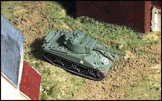 GHQ US23 M4A1 Sherman