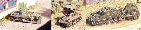 GHQ US50 Sherman Accessories