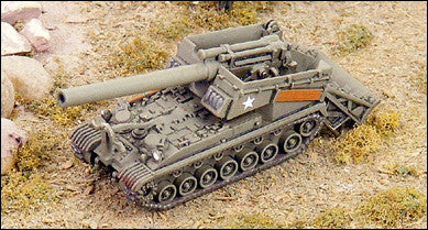 GHQ US98 T92 240mm Howitzer Motor Carriage