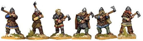 VIK005 - Viking Hirdmen With Two-Handed Axes