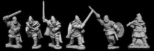 VIK007 - Viking Hirdmen With Hand Weapons