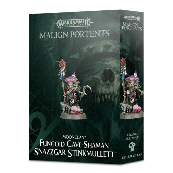 Fungoid Cave-Shaman Snazzgar Stinkmullett Age of Sigmar