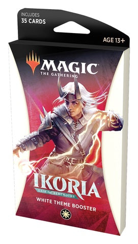 Magic: The Gathering - Ikoria- Lair of Behemoths Theme Booster - White