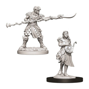 Yuan-Ti Pureblood Adventurers (D&D Nolzur's Marvelous Miniatures)