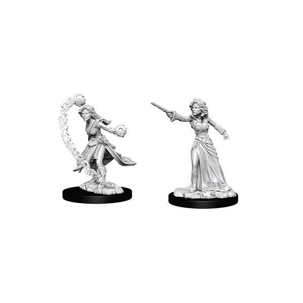 Female Human Wizard (WizKids Deep Cuts Miniatures)