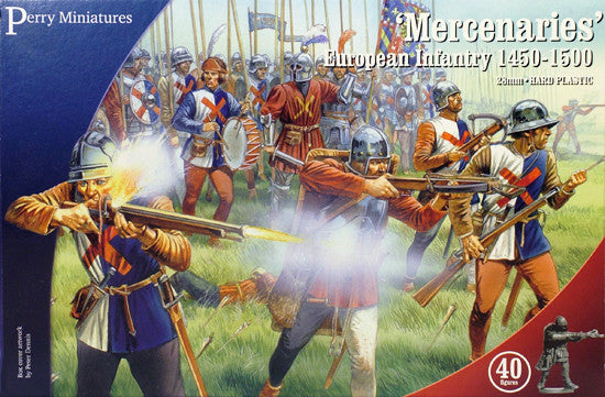 Perry Miniatures Plastic 'Mercenaries', European Infantry 1450-1500