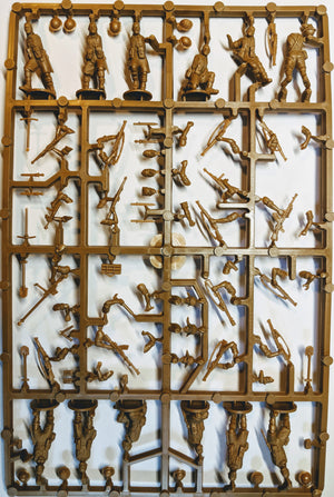 Perry Miniatures WWII Desert Rats infantry sprue