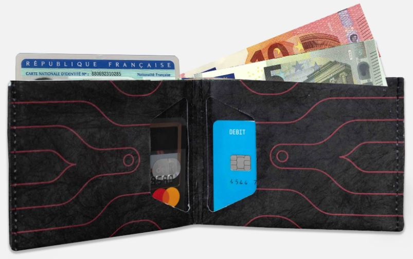 wallet paper monkeywi carry everything