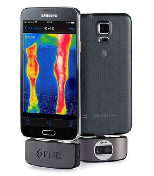 A Thermal Imaging Camera for Android devices